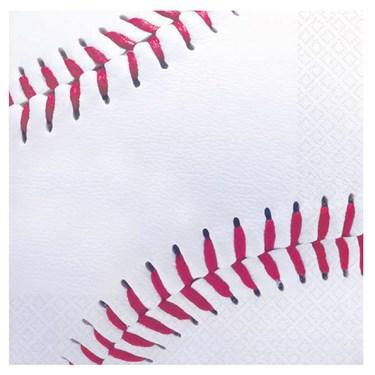 Baseball Fan Beverage Napkins