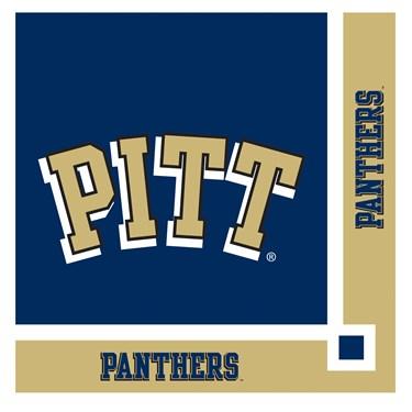 Pittsburgh Panthers Beverage Napkins