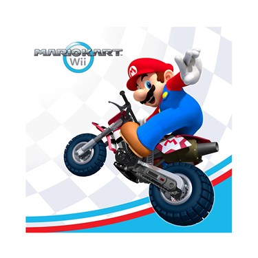 Mario Kart Wii Beverage Napkins
