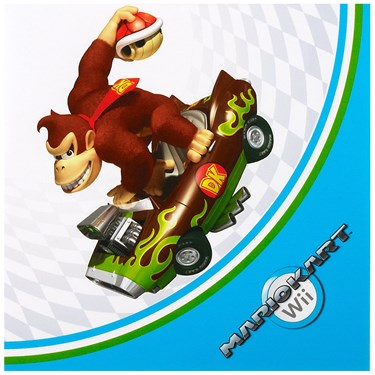 Mario Kart Wii Lunch Napkins
