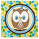 Default Image - Look Whoo's 1 - Blue Lunch Napkins