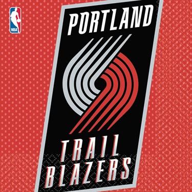 Portland Trailblazers Basketball - Lunch Napkins
