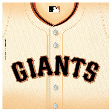 San Francisco Giants Baseball - Lunch Napkins