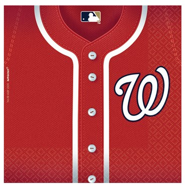 Washington Nationals Baseball - Lunch Napkins