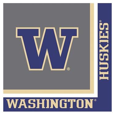 Washington Huskies Lunch Napkins