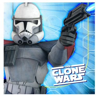 Star Wars: The Clone Wars Opposing Forces Lunch Napkins