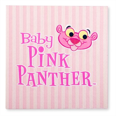 Baby Pink Panther Lunch Napkins