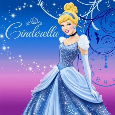 Disney Cinderella Sparkle Lunch Napkins