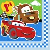 Disney 1st Birthday Cars Lunch Napkins