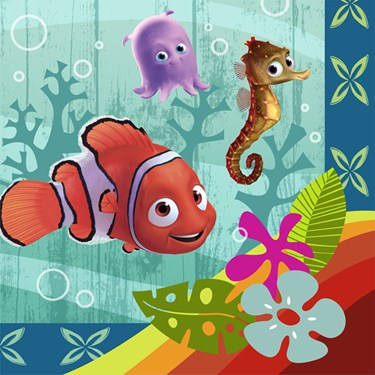 Disney Nemo's Coral Reef Lunch Napkins