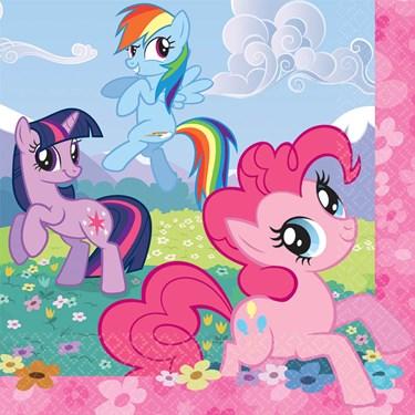 My Little Pony Friendship Magic Lunch Napkins