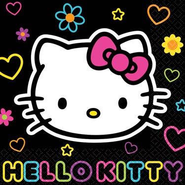Hello Kitty Tween Lunch Napkins