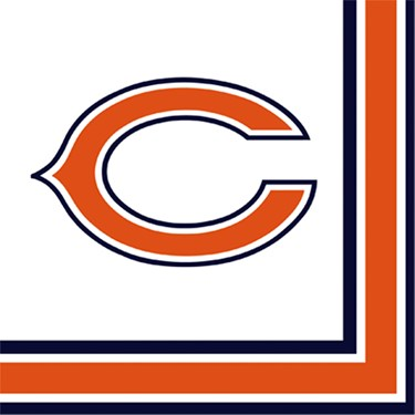 NFL Chicago Bears Lunch Napkins