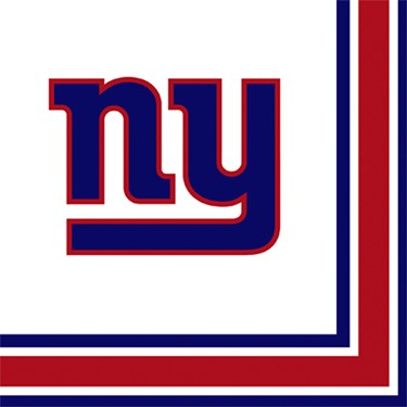 NFL New York Giants Lunch Napkins