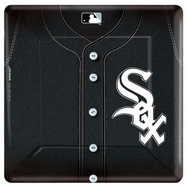 Chicago White Sox Baseball Square Banquet Dinner Plates