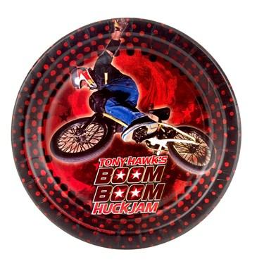 Tony Hawk's New Boom Boom HuckJam Dessert Plates (8)