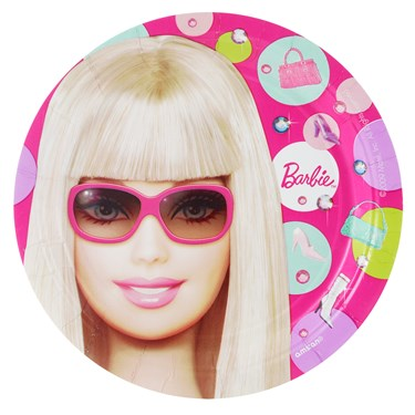 Barbie All Doll'd Up Dessert Plates