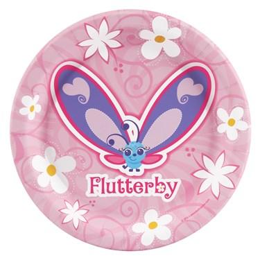 Flutterby Butterflies Dessert Plates