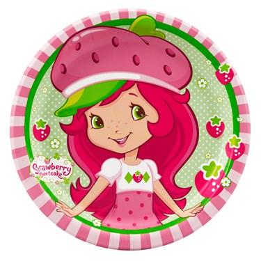 Strawberry Shortcake Dessert Plates
