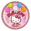 Hello Kitty Balloon Dreams Dessert Plates