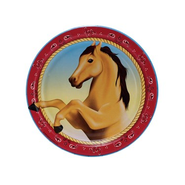 Horse Power Dessert Plates