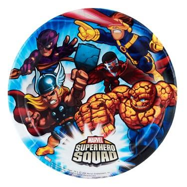 Marvel Super Hero Squad Dessert Plates