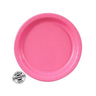 Candy Pink (Hot Pink) Dessert Plates