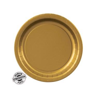 Glittering Gold (Gold) Dessert Plates