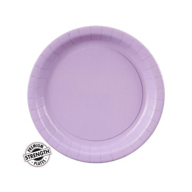Luscious Lavender (Lavender) Dessert Plates