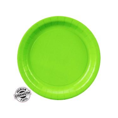 Fresh Lime (Lime Green) Dessert Plates