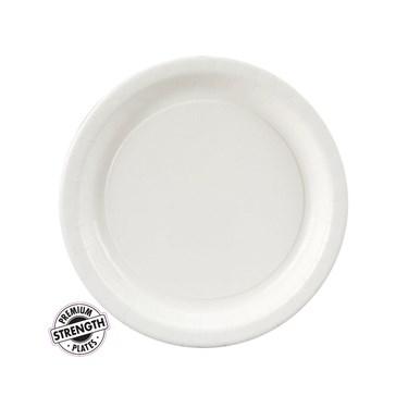 Bright White (White) Dessert Plates