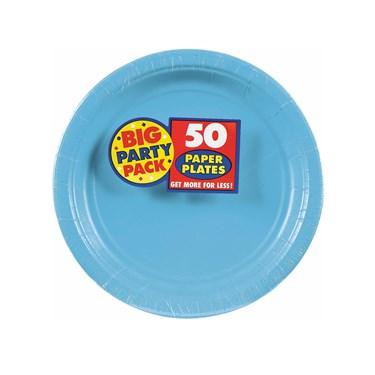 Caribbean Blue Big Party Pack Dessert Plates