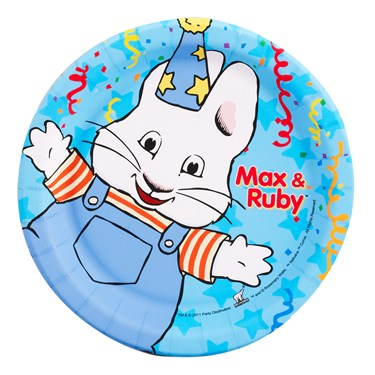 Max & Ruby Dessert Plates