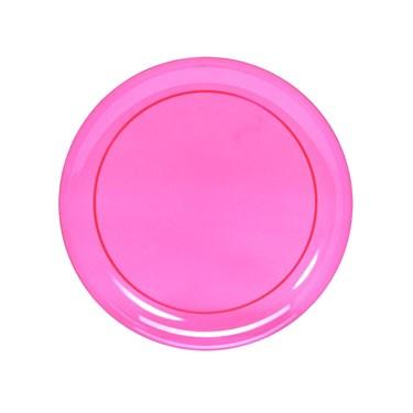Neon Plastic Dessert Plates Assorted