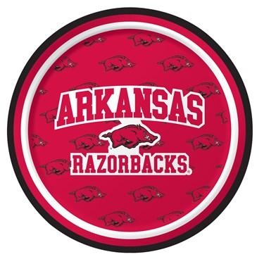 Arkansas Razorbacks Dessert Plates