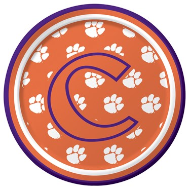 Clemson Tigers Dessert Plates