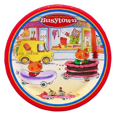 Richard Scarry's Busytown Dessert Plates