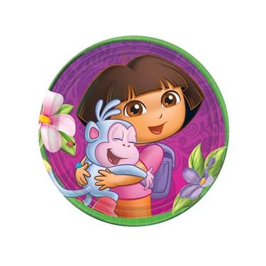 Dora's Flower Adventure Dessert Plates