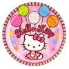 Hello Kitty Balloon Dreams Dinner Plates