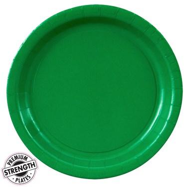 Emerald Green (Green) Dinner Plates
