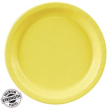 Mimosa (Light Yellow) Dinner Plates