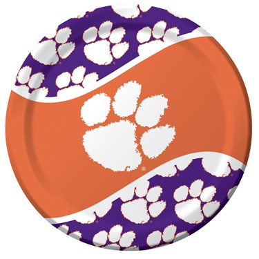 Clemson Tigers Dinner Plates