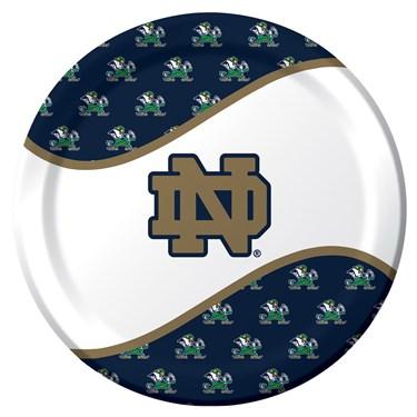 Notre Dame Fighting Irish Dinner Plates