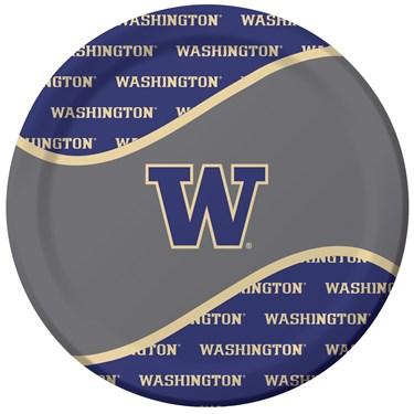 Washington Huskies Dinner Plates