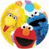 Sesame Street Party Dinner Plates