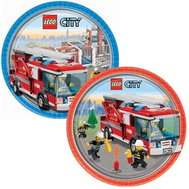 LEGO City Dinner Plates