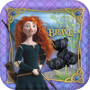 Disney Brave Square Dinner Plates