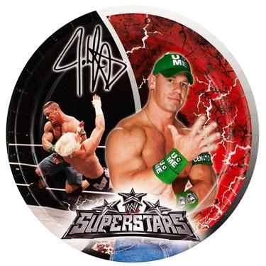 WWE Dinner Plates