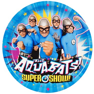 The Aquabats! Supershow! 3D Dinner Plates