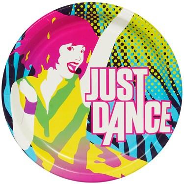 Just Dance Dinner Plates